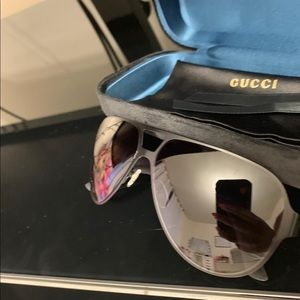 Men Gucci sunglasses